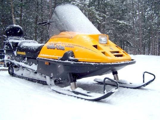 Як отримати права на снігохід