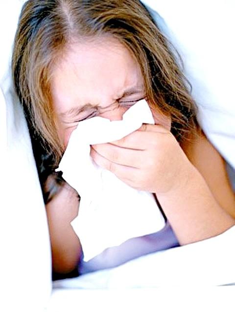 Як вилікувати нежить і кашель у дитини