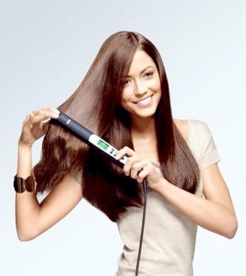 Як випрямити кучеряве волосся