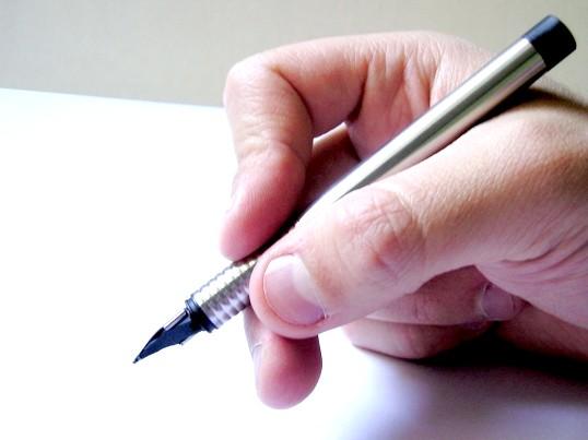 Як писати лівою рукою
