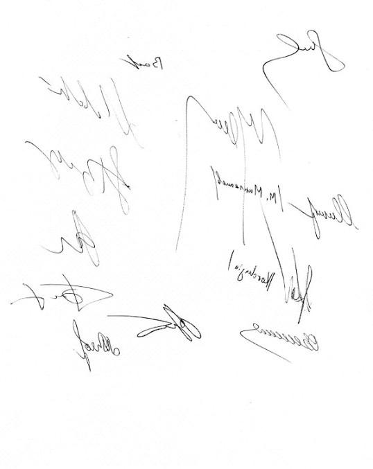 Як придумати свій підпис