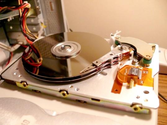 Як розбити диск без втрати даних