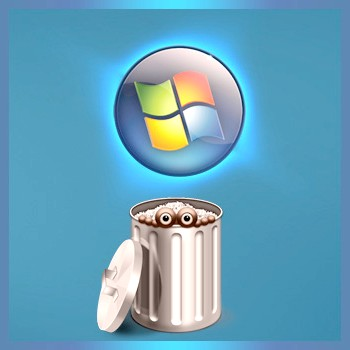 Як видалити системні файли
